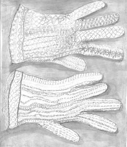 Les gants de dentelle / Cloé Marthe