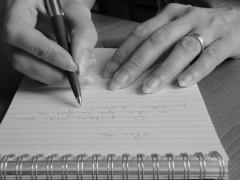 Ecrire, c'est gratter